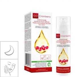 GoCranberry Intensywnie nawilżające serum przeciwzmarszczkowe na noc