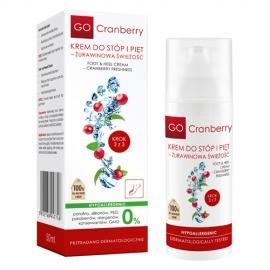 GoCranberry Krem Do Stóp i Pięt - Żurawinowa Świeżość