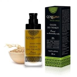 GoArgan+ Kiełki Owsa - olejek  do twarzy głęboko nawilżający
