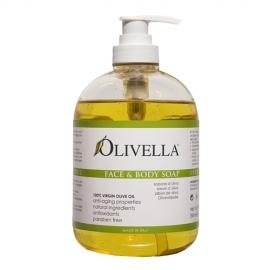 Olivella - Delikatne roślinne mydło w płynie
