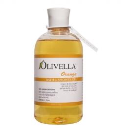 Olivella - Żel do kąpieli i pod prysznic Pomarańcza
