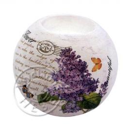 Świecznik ceramiczny Lilak