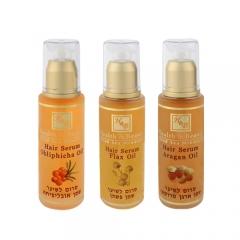 Serum do włosów z olejkiem lnianym