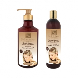 Regeneracyjny szampon keratynowy do włosów zniszczonych