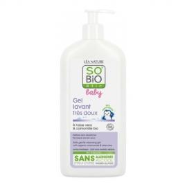 SO BIO Organiczny płyn do mycia ciała i włosów dla niemowląt i dzieci