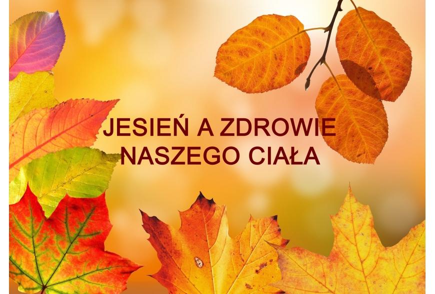 Wpływ jesieni na naszą skórę i cały organizm.